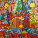 Часовня Александра Невского, х.м. (100-70см) 2010 г.