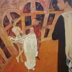 """Анна Ахматова. XX век"", холст-масло 86-68см, 1999 г."