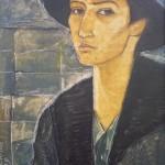 """""""Автопортрет"""", холст-масло, 65-45,5см, 1999 г."""