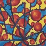 Красные розы х.м. (90-120см) 1999 г.