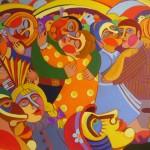 Старомодные танцы х.м. (60-96см) 2009 г.