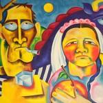 Свадьба в Смоляниново х.м. (90-130см) 2002 г.